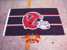 free shipping Atlanta Falcons  Rugby   Helmet  flag,Atlanta Falcons Rugby  polyster 90*150 CM banner,fan flagking