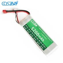 GDSZHS Poder 7.4 V 5200 mAh 30C Lipo Batería 2 S Batería 2 S LiPo 7.4 V 5200 mAh 30C 2 S 1 P Batería de Polímero de Litio Para RC coche