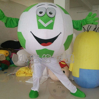 High Quality Adult Basketball Football Mascot Costume with Free Shipping for Halloween Party Fancy Dress