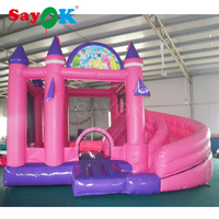 High Quality PVC Inflatable Bouncer With Slide Inflatable Bouncy Castle Inflatable Combo For Kids
