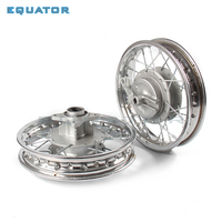 Front and Rear 1.40 X 10 inch Aluminium Alloy Wheel Rims Drum Brake hub for KTM CRF Kayo BSE Apollo Axle hole 12mm