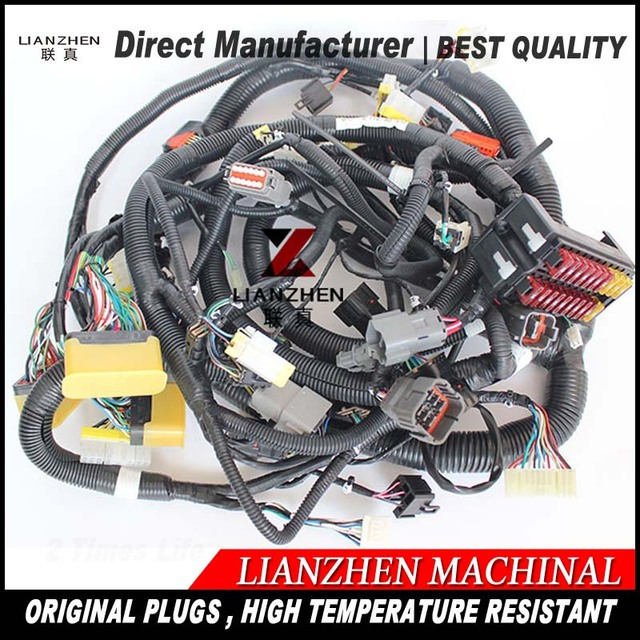 Excavator sapre replacements electric parts PC200 7 old series inner ...