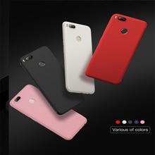 Colourful Plain Soft TPU Silicone Phone Case For Xiaomi Redmi 4X Note 5 5A Plus 4A Mi 8 5X 6X Mix 2 Capa