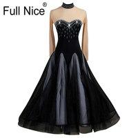 Skin color Ballroom dance competition dresses standard ballroom dress standard dance dresses luminous costumes ballroom waltz