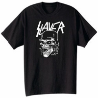 Slayer Skull T Shirt Men Vintage Style Heavy Speed Trash Metal Gift Casual Tee USA Size
