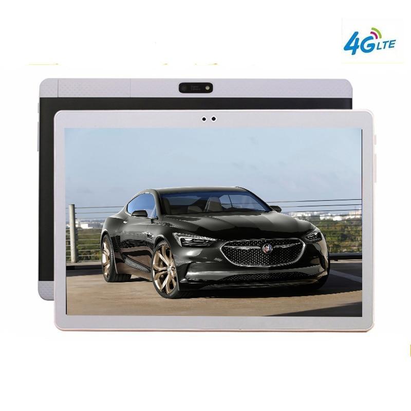 2018 NUOVO 10.1 'Tablet Android 10 Core k99 Doppia Fotocamera Dual SIM Tablet PC 1920x1200 WIFI OTG GPS bluetooth del telefono ROM 128 gb