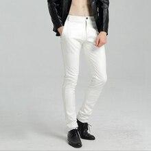 Skinny Faux Leather Pants PU27