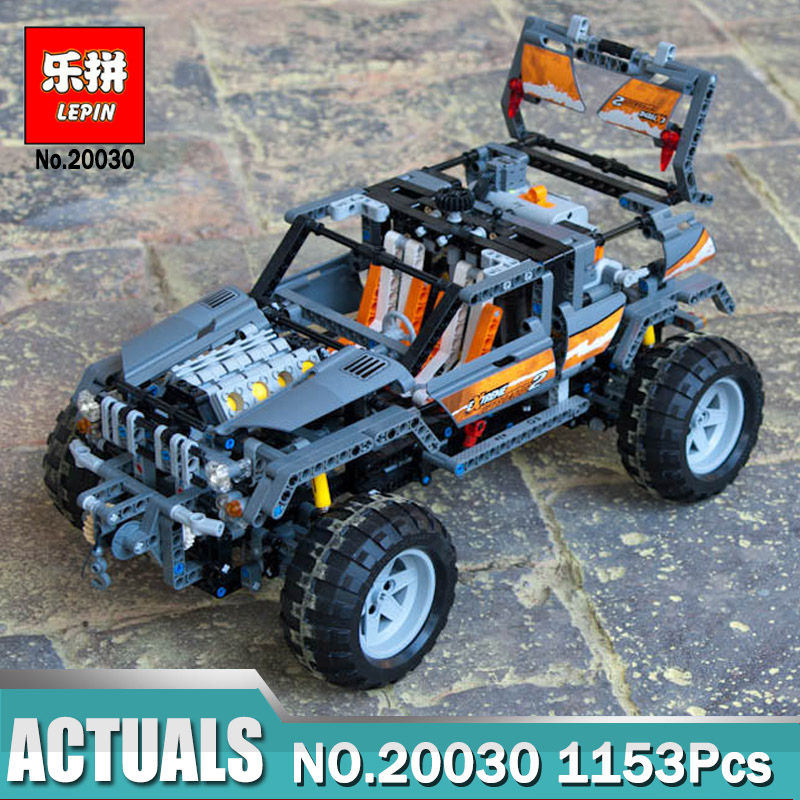 Lepin 20030 Technic Ultimate Series The Off-Roader Compatible Legoing 8297 Building Blocks Bricks Toys as Boys educational Gift цена