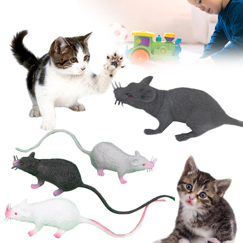 Interesting Fake Mouse Toy PVC Decoration Prank Mouse Model Tricks Jokes Simulation Mouse