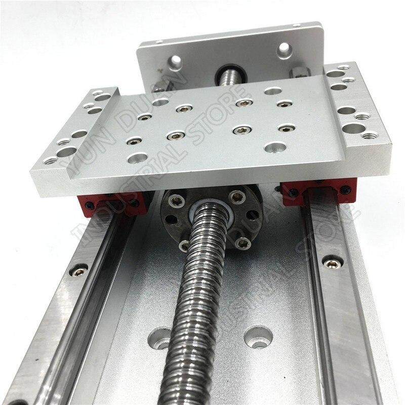 12 300MM Stroke XYZ Axis Cross Electric Sliding Table Slide Linear Stage SFU1605 Ballscrew HG15 guide