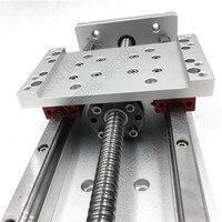12 300 мм ход электромотор для 3D принтера XYZ Axis кросс Электрический раздвижной стол слайд линейная платформа SFU1605 шарикового винта HG15 руководс
