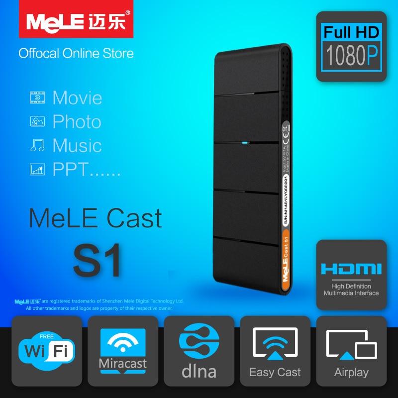 Smart TV Stick WiFi HDMI Dongle MeLE Cast S1 AirPlay EZCast