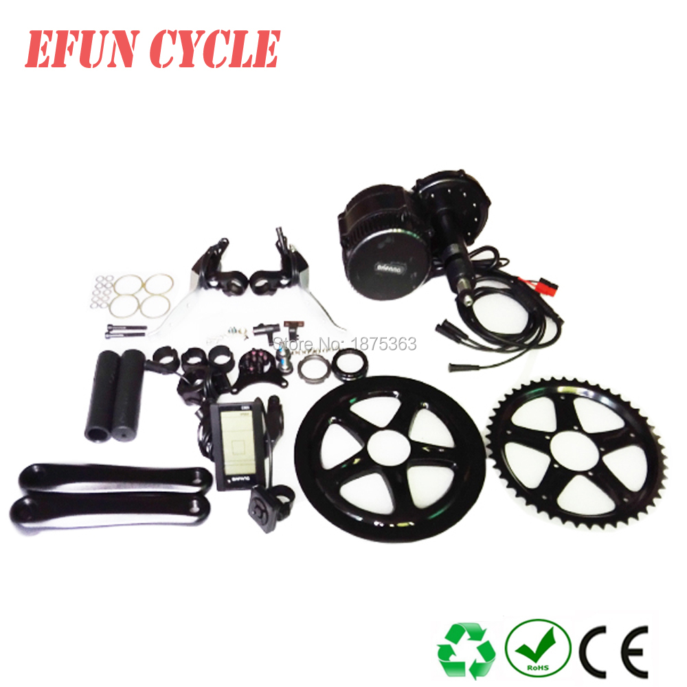 Free shipping newest Bafang BBS01B 36V 250W Ebike Electric bicycle Motor 8fun mid drive electric bike conversion kit with LCDFree shipping newest Bafang BBS01B 36V 250W Ebike Electric bicycle Motor 8fun mid drive electric bike conversion kit with LCD