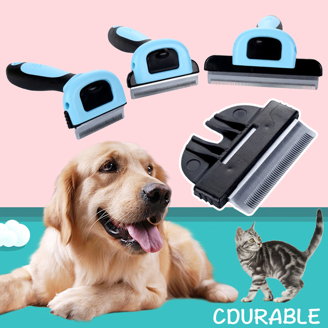 Combs Dog Hair Remover Cat Brush Grooming Tools Pet Detachable Clipper Attachment Pet Trimmer Combs  Supply Furmins for Cat Dog 1