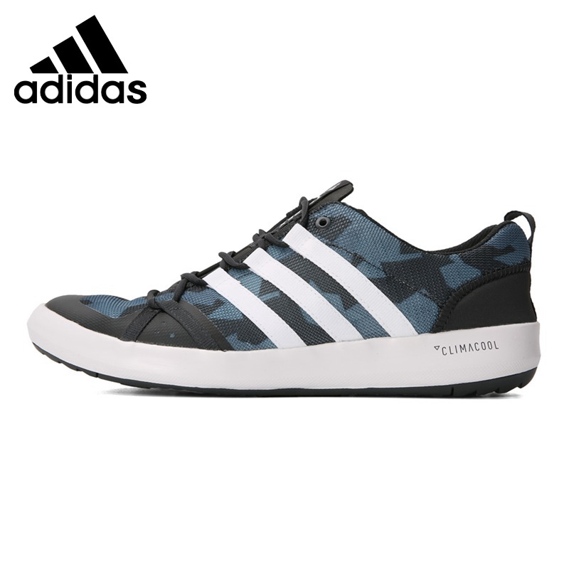 Original New Arrival 2018 Adidas TERREX CC BOAT GRAPHIC Men's Aqua Shoes Outdoor Sports Sneakers adidas sport performance kid s boat lace i sneakers