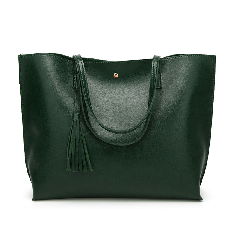 Nevenka Leather Handbag Women Casual Totes Female Shopper Ladies Shopping Bags Large Capacity Bags Vintage Bag for Women 201816