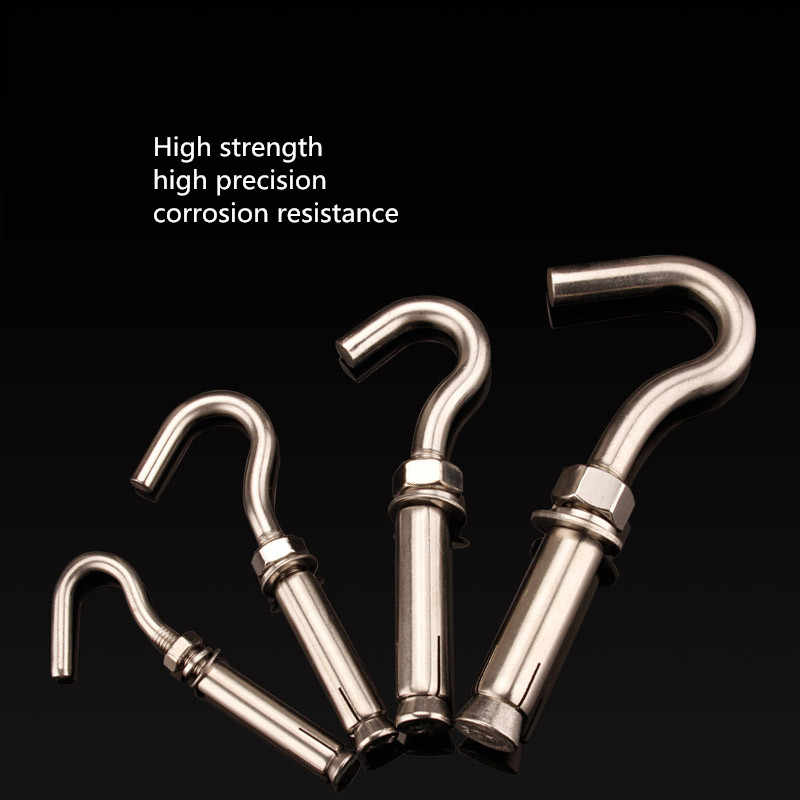 Detail Feedback Questions about 304 stainless steel expansion hook