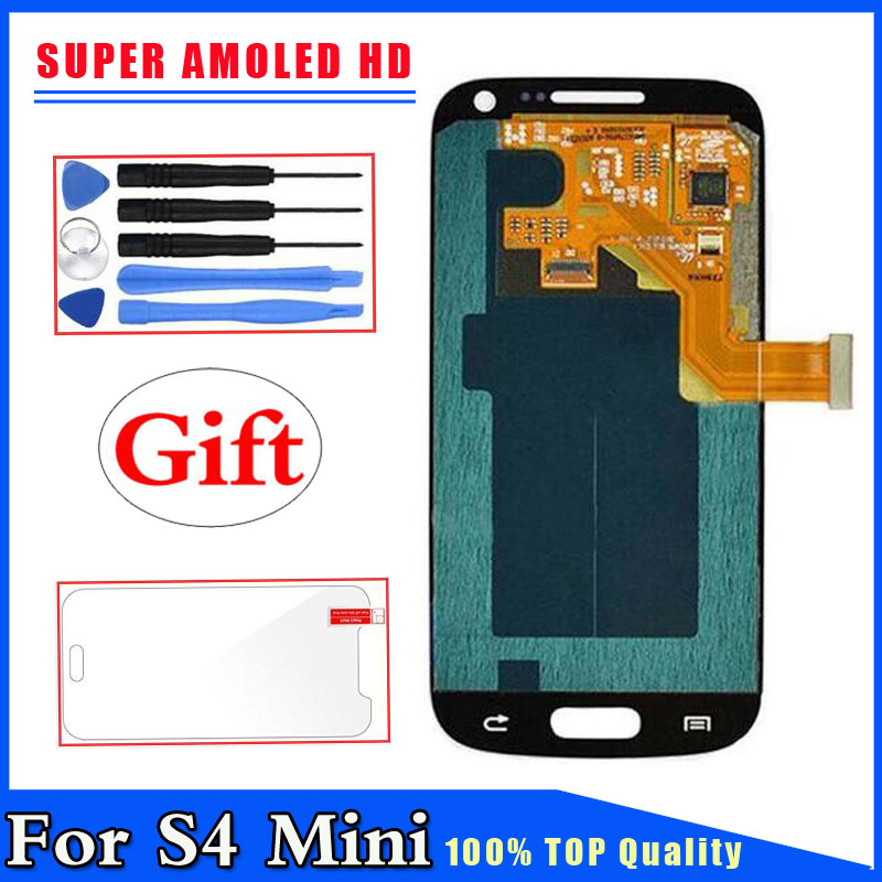 Super AMOLED HD For Samsung Galaxy S4 Mini I9190 i9192 i9195 LCD Display Touch Screen Digitizer Replacement