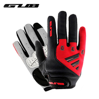 GUB Full Finger Cycling Gloves Touch Screen Breathable Unisex Outdoor Sports Riding Bike Bicycle Gloves Winter