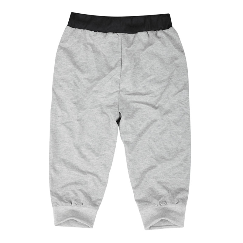 Men Leisure Knee Length Shorts Patchwork Joggers 2