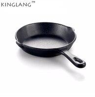 Высококачественное черное блюдо для пиццы сковорода для жарки яиц суши блюдо с ручкой тарелка посуда