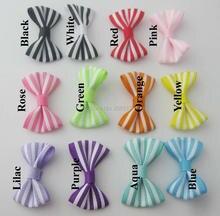 FZNNWL hairclip bows printed Lines on Grosgrain ribbon 60pcs/lot children skirt decorative bowtie DIY sewing