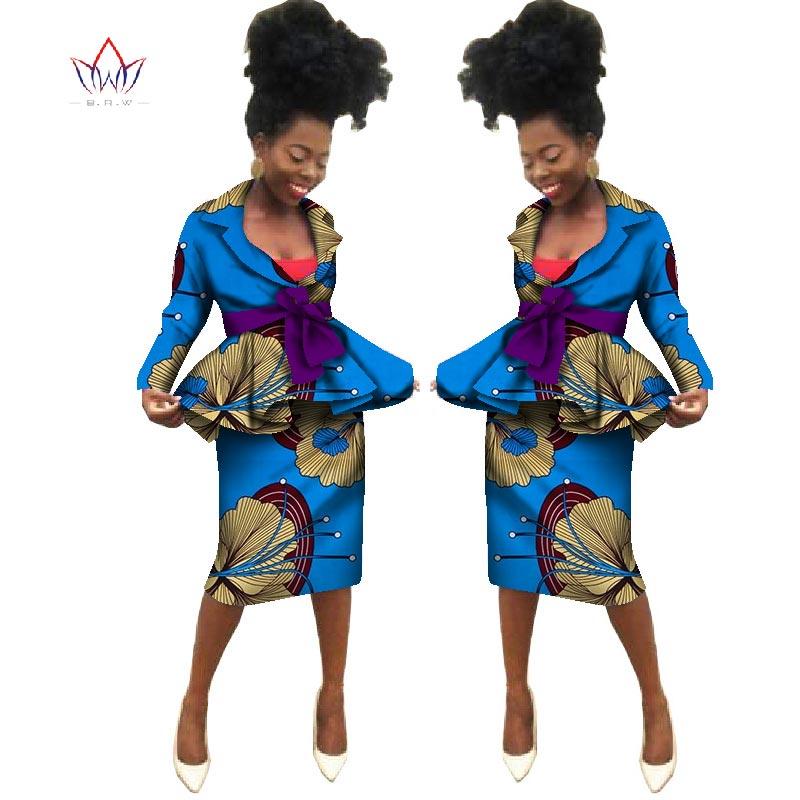 Sommar Nya afrikanska kjol passar Dashiki kvinnor elegant dam - Nationella kläder - Foto 4