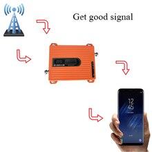 Amplificador móvel 70dbi do telefone móvel do repetidor lte do sinal do impulsionador 900 1800 mhz gsm, antena não está incluído