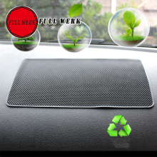 1pc Automobile Anti Slip Mat Car Silica Gel Sticky Pad Black for Mobile Phone mp4 GPS Pad Holder Auto Interior Accessories
