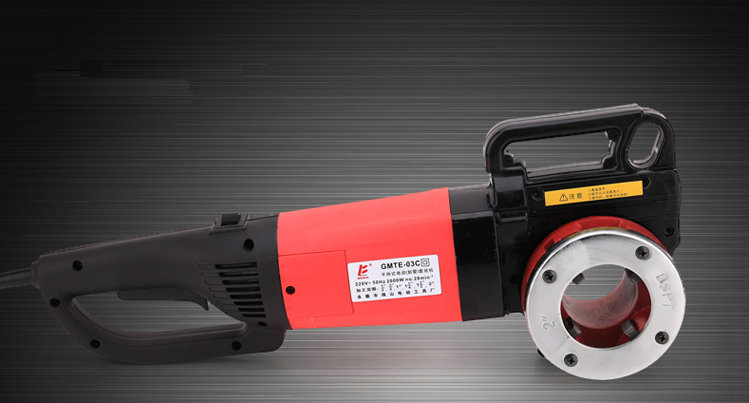 1400W portable automatic cutting electric pipe threader, iron pipe cutting machine, industrial pipe cutting tool mold set electric pipe threader portable electric sleeve machine 220v galvanized pipe sleeve machine electric pipe threader