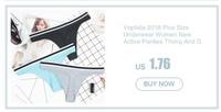 voplidia женские сексуальные трусики нижнее белье стринги против г-струн 2018 Т-обратно женское бесшовное белье кружева с низкой талией G строки pm213