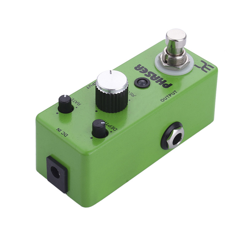Guitar Effect Pedal Part Phase Monoblock PHASER Guitar Pedal Bass Effect Pedal Power 9V Subtle Sound Effects Support Wholesale mooer ensemble queen bass chorus effect pedal mini guitar effects true bypass with free connector and footswitch topper