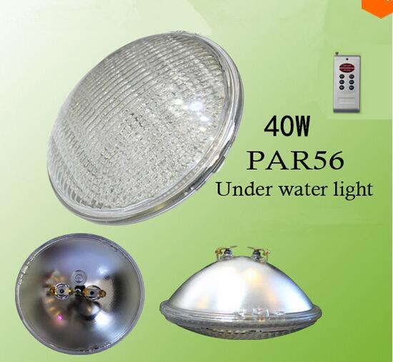 Par 56 RGB 40w swimming pool light underwater piscina fountain bulb lampadas Outdoor Waterproof IP68 12V Free shiping 2pcs кардиган alcott ma7360dofw14 р s int