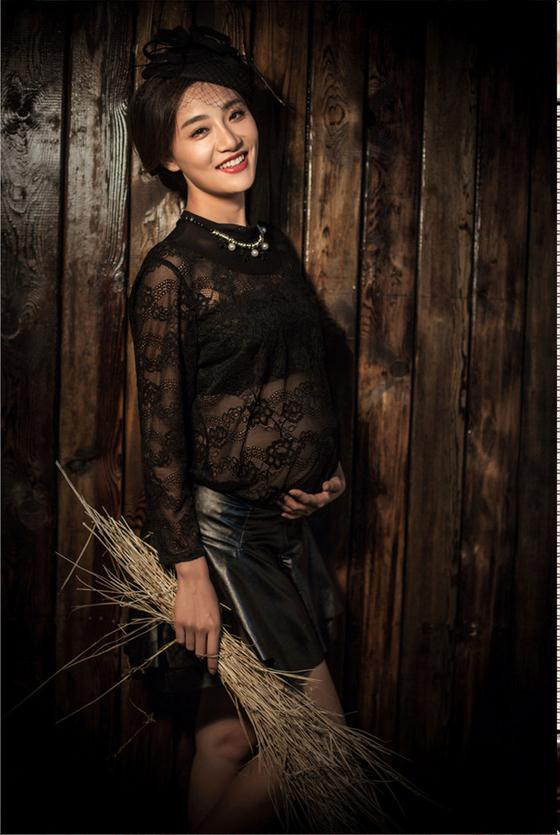 ФОТО Black Maternity Gown Lace Dress Elegant dresses Pregnant Photography Props Fancy Pregnancy Photo Shoot Studio Clothing free size