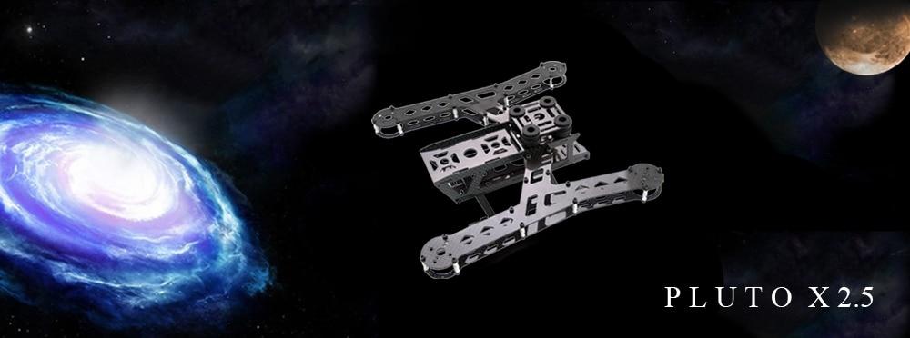 GARTT PLUTO-X2.5 Carbon Fiber Interstellar 250 Mini 250 FPV Quadcopter Frame Multi-Rotor Drone pluto