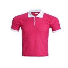a245692696 Moda Duplo Cor da Camisa Polo Homens Mulheres Verão Tops de Manga Curta  Sólidos Respirável Polos camisetas Roupas Casuais Mascul.