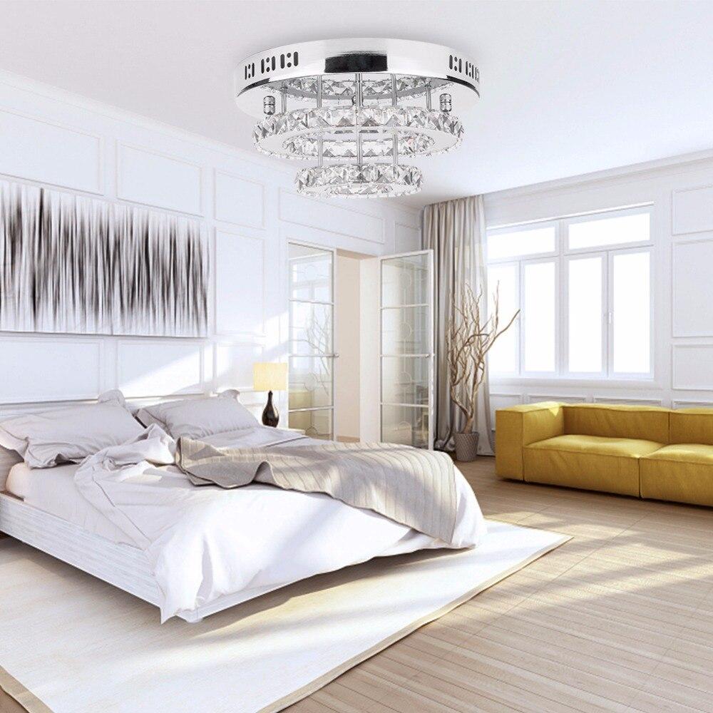 Crystal Led Ceiling Lights Restaurant KTV Aisle Living Room Balcony Lamp Modern Led Lighting for Home