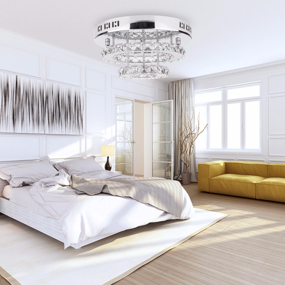 cristal led luzes de teto restaurante ktv corredor sala estar varanda lampada moderna iluminacao led para