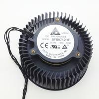65mm durchmesser grafikkarte fan Für ZOTAC GTX680 GTX670 Referenz design GTX460/580 Vga-grafikkarte Kühlung