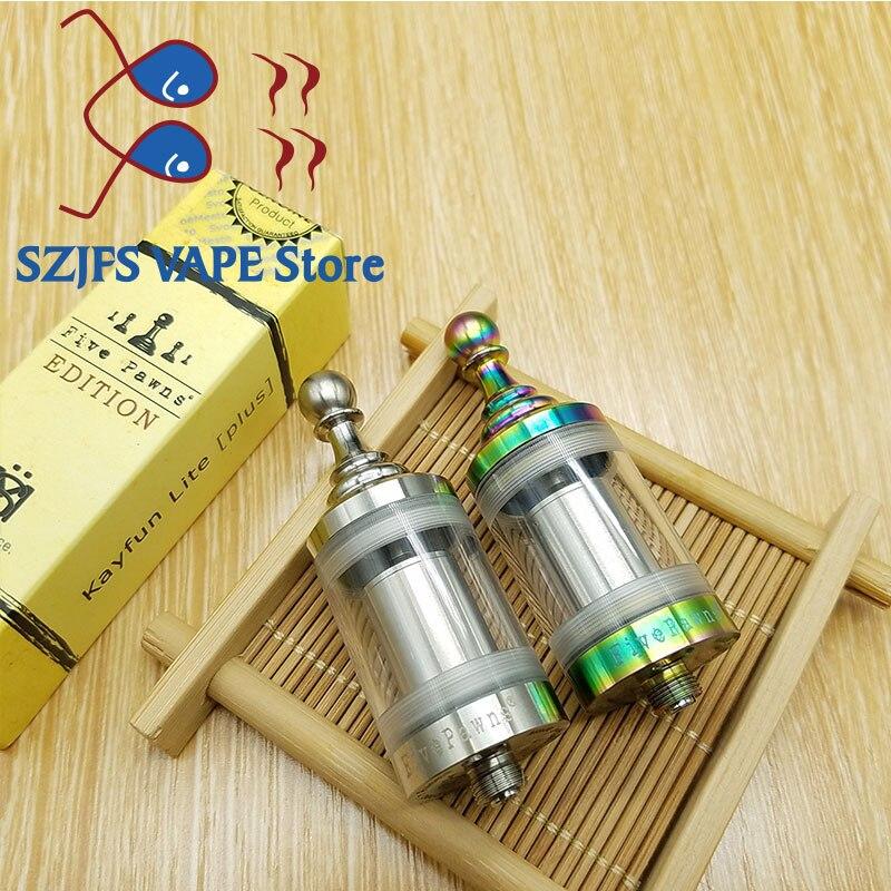 SUB TWO Lite Plus RDA Atomizer For Kayfun Lite Plus Five Pawns Vs Kayfun V4 V5 V6 E Cigarette Vape Mod Taifun GT4 Gtr RTA Tank
