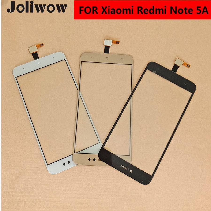 Para Xiaomi Redmi Nota 5A Note5A Prime Redmi Y1 Y1 Lite Tela Sensível Ao Toque de Toque de Vidro Da Frente da Tela de Toque Do Painel Sensor de Toque