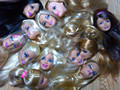 Foreign Trade Original Doll Heads For Barbies DIY Girl Birthday Gift Mix-Style Female Doll Head In Stock Wholesale Free Shipping
