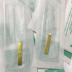 Image 5 - סיטונאי 500 pcs microblading מחט 12 פין pcd Lamina Tebori 12 קשיח להגמיש Microblading 12 חודים שטוח איפור הקבוע