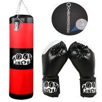 Sac de boxe crochet sac suspendu Sport sac de sable gants de boxe Saco Boxeo MMA Muay Thai Fitness training