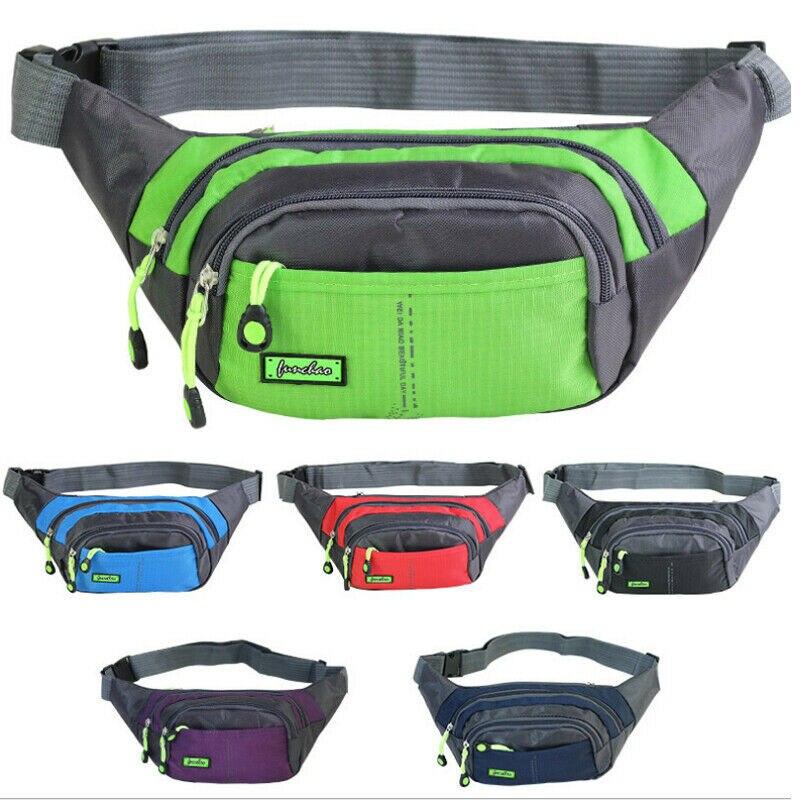New Fanny Pack Men Womens Waist Hip Belt Bag Purse Pouch Pocket Travel Sport Bum