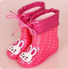 Cartoon Girls Rainboots Girl Boots Baby Kids Rain Boots baby girls Rain Boots Toddler Kids Jelly shoes Fashion Rubber Shoe цена