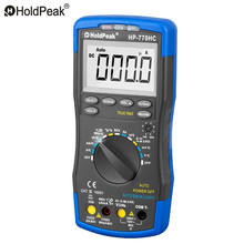 Multimetro HoldPeak HP-770HC True RMS Auto Ranging Digital Multimeter with NCV Feature and Temperature/Frequency/Duty Cycle Test