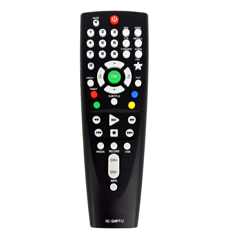 NEW Original Remote Control RC-SMP712 For BBK SMP125HDT2 Set Top Box