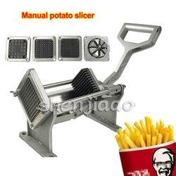 New 4pcs blades Manual potato slicer Restaurant Heavy Duty French Fry Cutter, Potato Cutter ,Potato Slicer,potato wedge machine