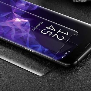Image 5 - Liquid UV Glue Tempered Glass Screen Protector For Samsung Galaxy S9 S10 Plus Note 9 Note 10 2PCS Glass+2PCS Glue+1 Big Light